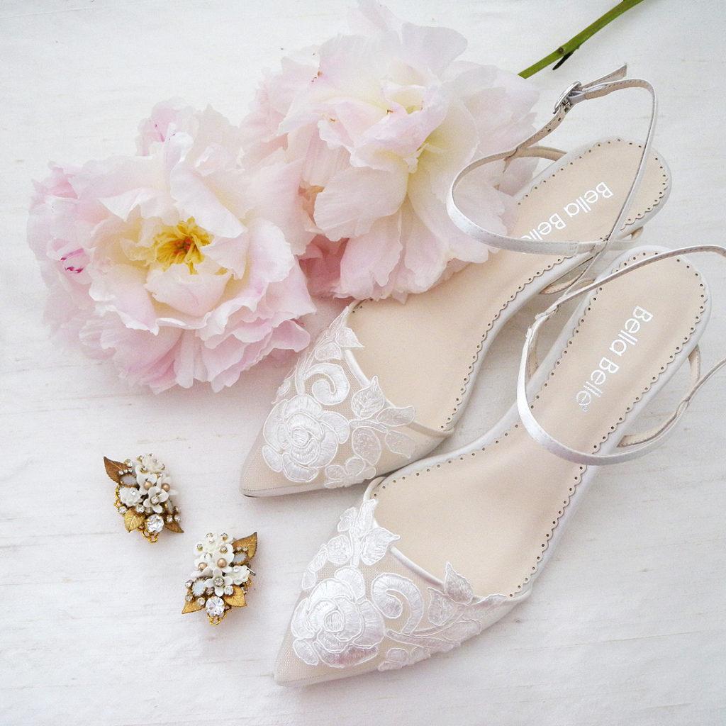 Bella Belle Serena Lace Wedding Shoes