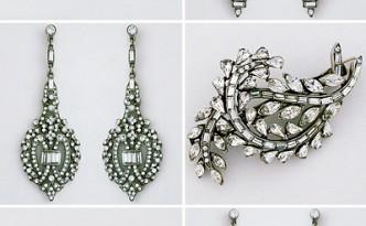 Ben-Amun bridal jewelry, bridal hair accessories, deco, vintage