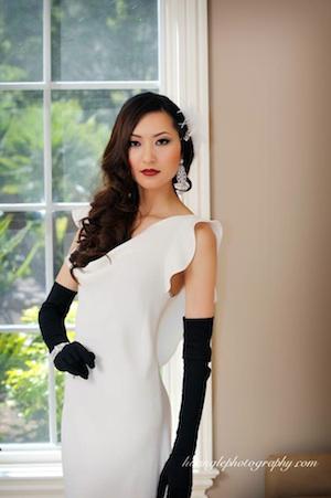 Opera Length Gloves Silk Kid Leather Bridal Gloves