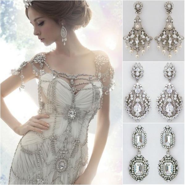 Bridal Chandelier Earrings, Trend Alert | Designer Chandelier Earrings