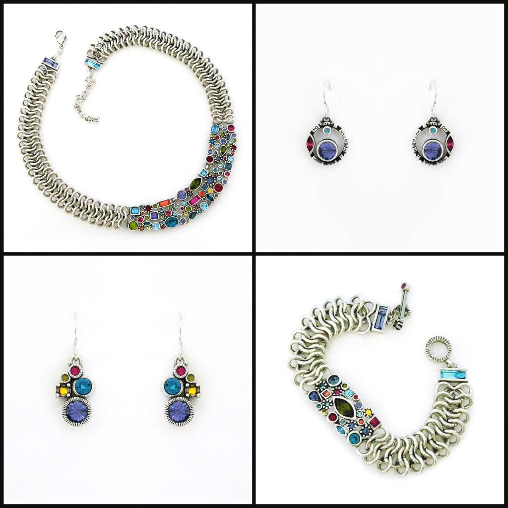 patricia locke jewelry, celebration collection, necklaces, earrings, bracelets