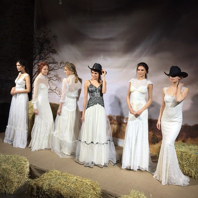 Claire Pettibone Romantique Runway Show New York Brildal Market 4/17/15