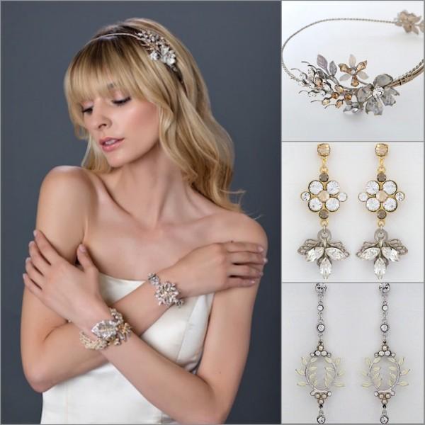The Epitome Of Bohemian Glam Bridal Accessories Debra Moreland S Nero Mistress Vine Earrings