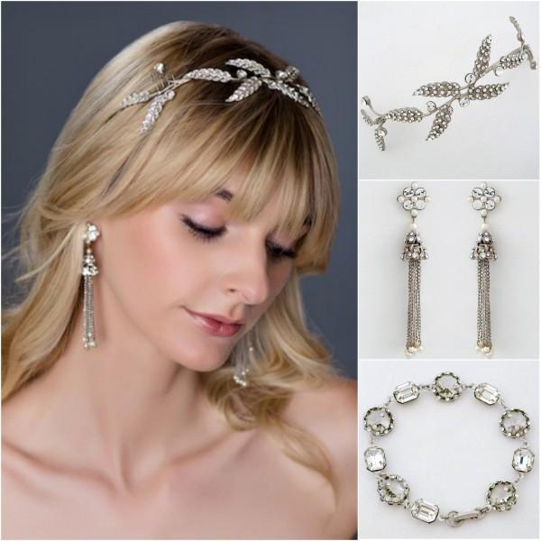 Bohemian Glam Bridal Accessories Chic Bridal Jewelry Hair Ornaments