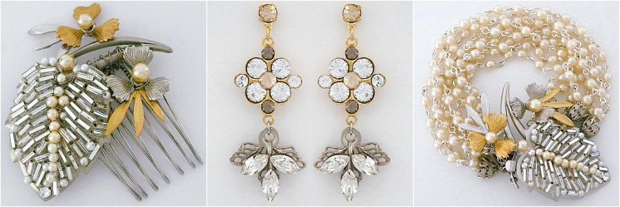 Paris Bridal Jewelry & Hair Accessories by Debra Moreland.
