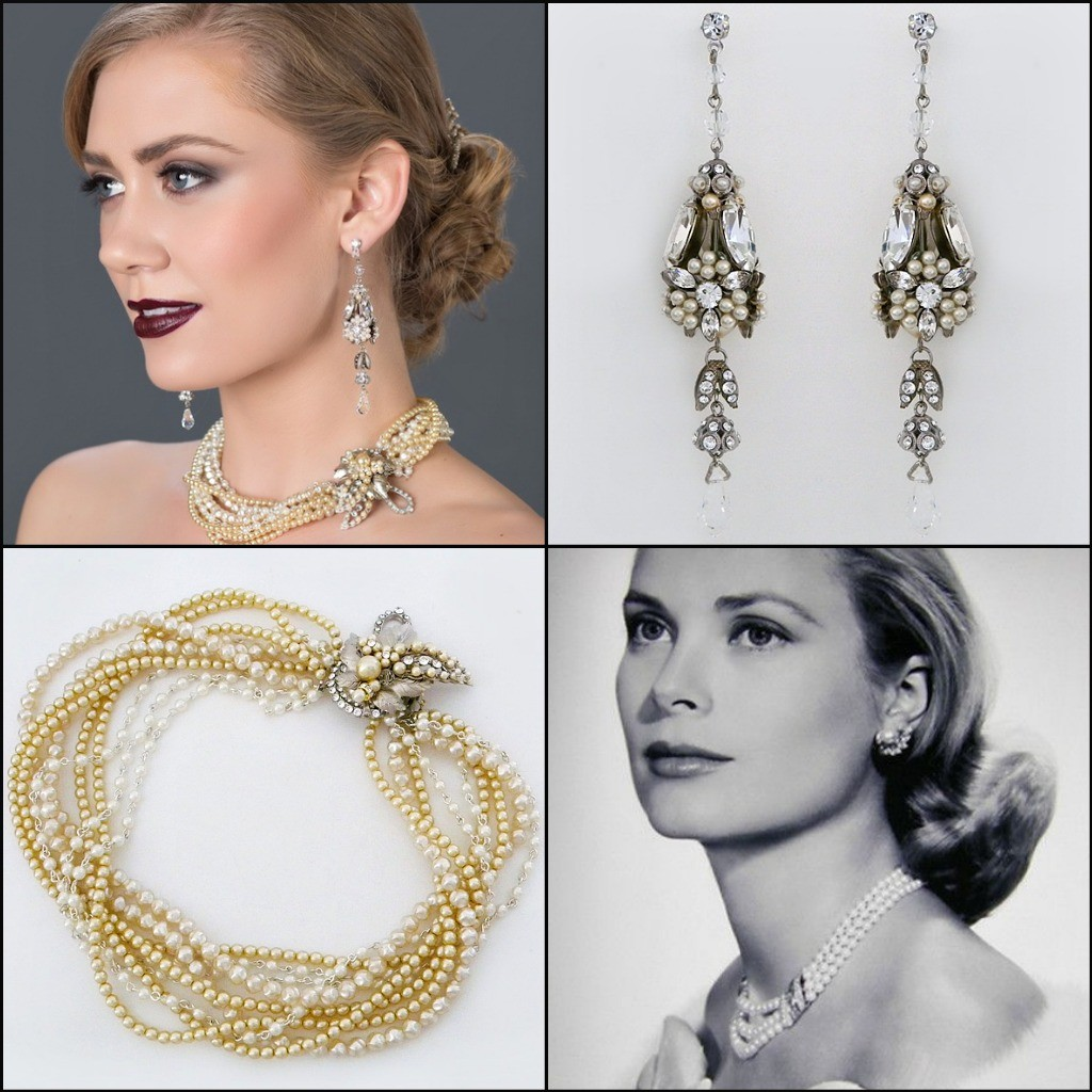 Pearl Jewelry Fashion Pearl Bridal Jewelry Modern Pearl