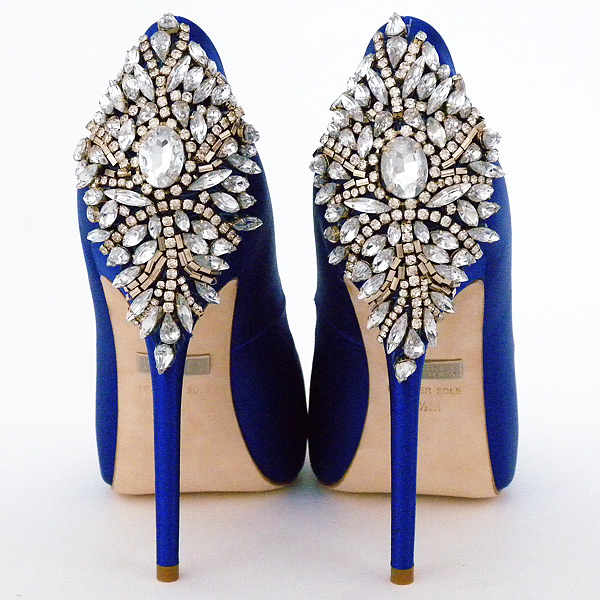 Blue Wedding Shoes   Badgley Mischka