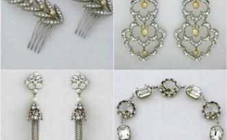 Paris by Debra Moreland. Bridal Hair Accessories, Bridal Jewelry.