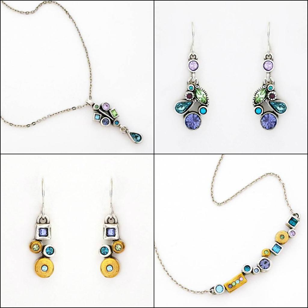 Patricia Locke Waterlily collection. Patricia Locke Jewelry.