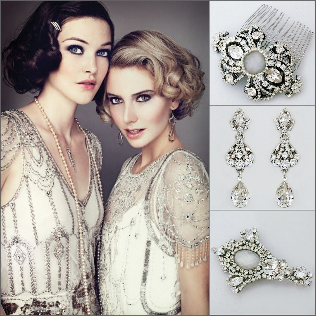 couture bridal jewelry | erin cole modern vintage bridal jewelry