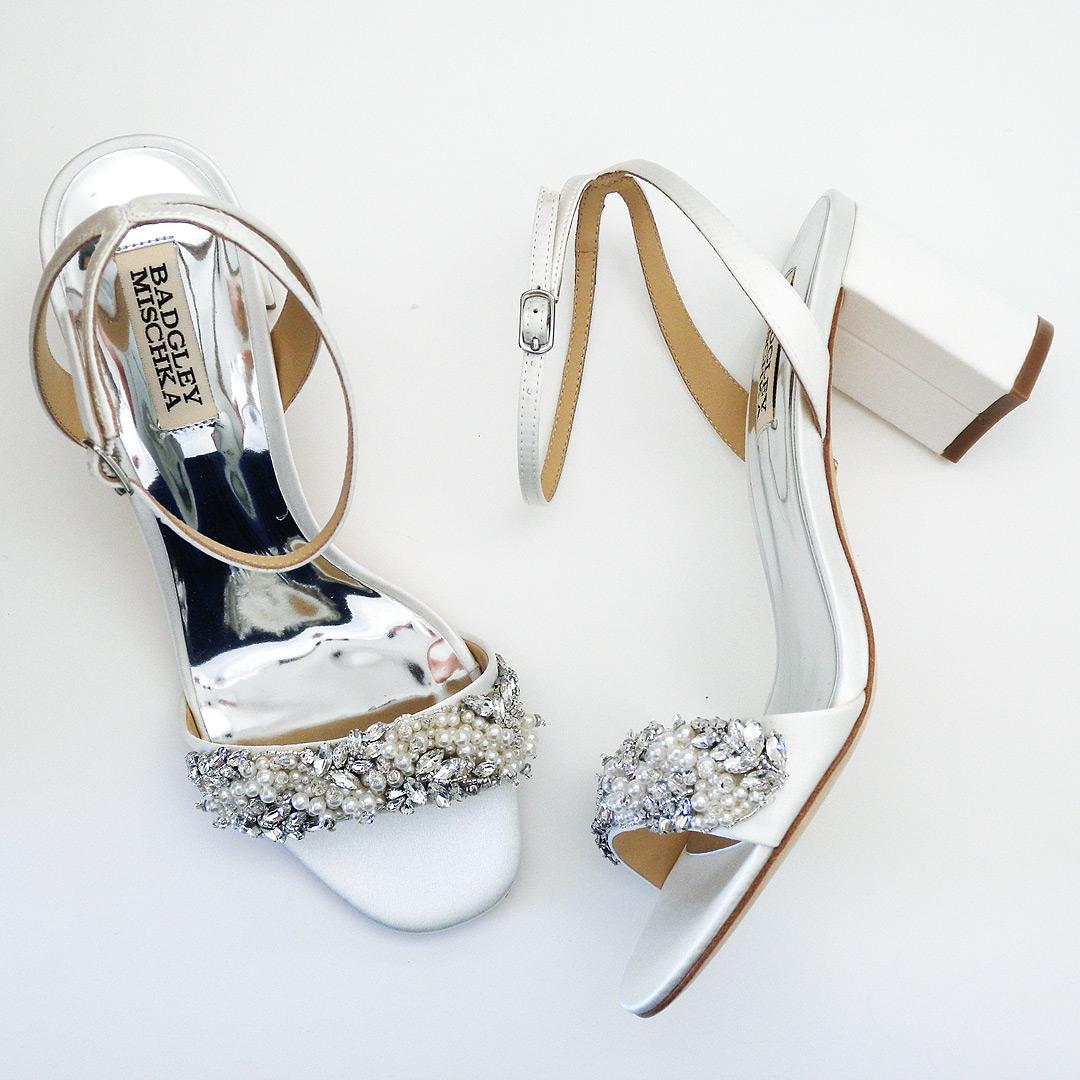 Badgley Mischka Clara, Wedding Sandals