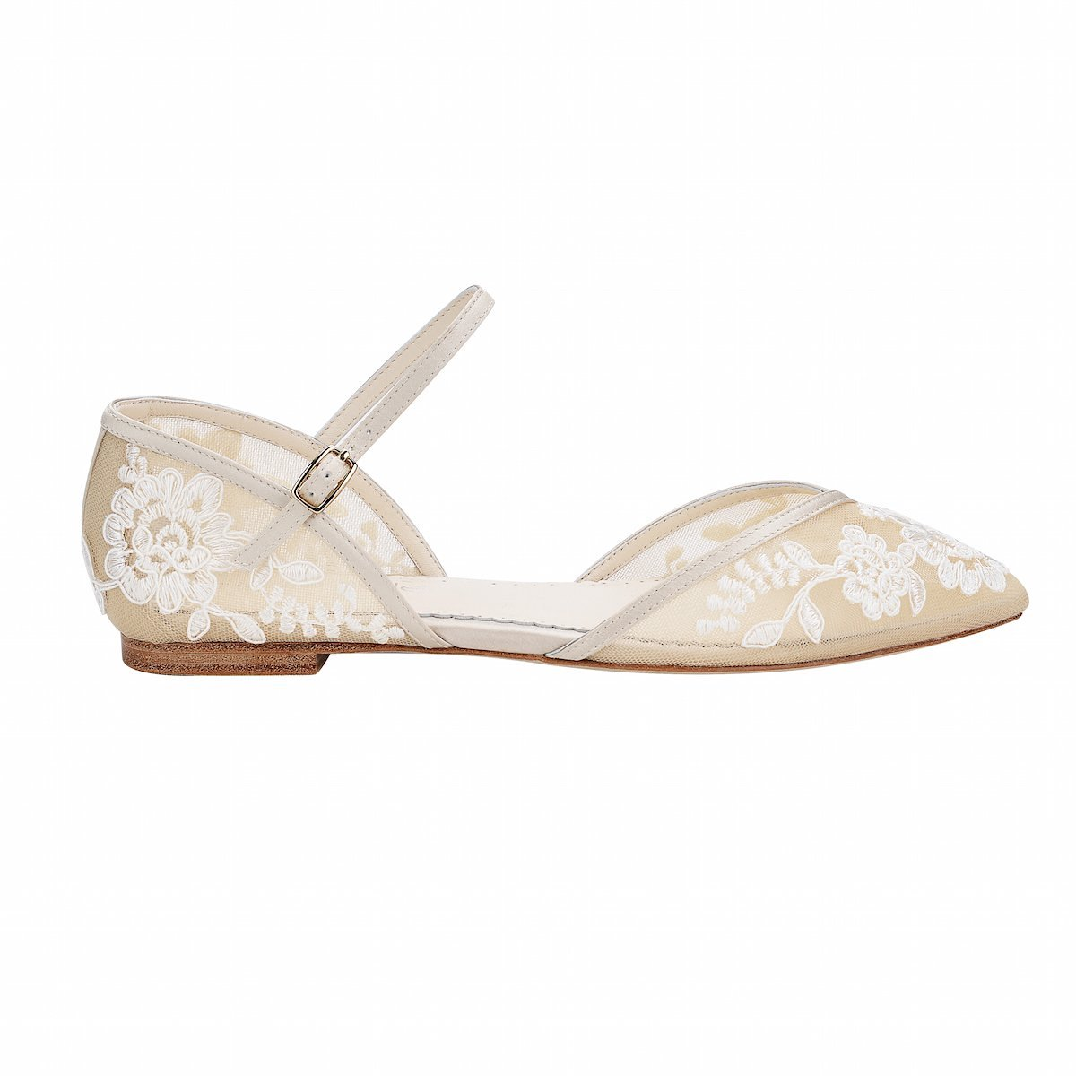 Bella Belle Celia Flat Wedding Shoes