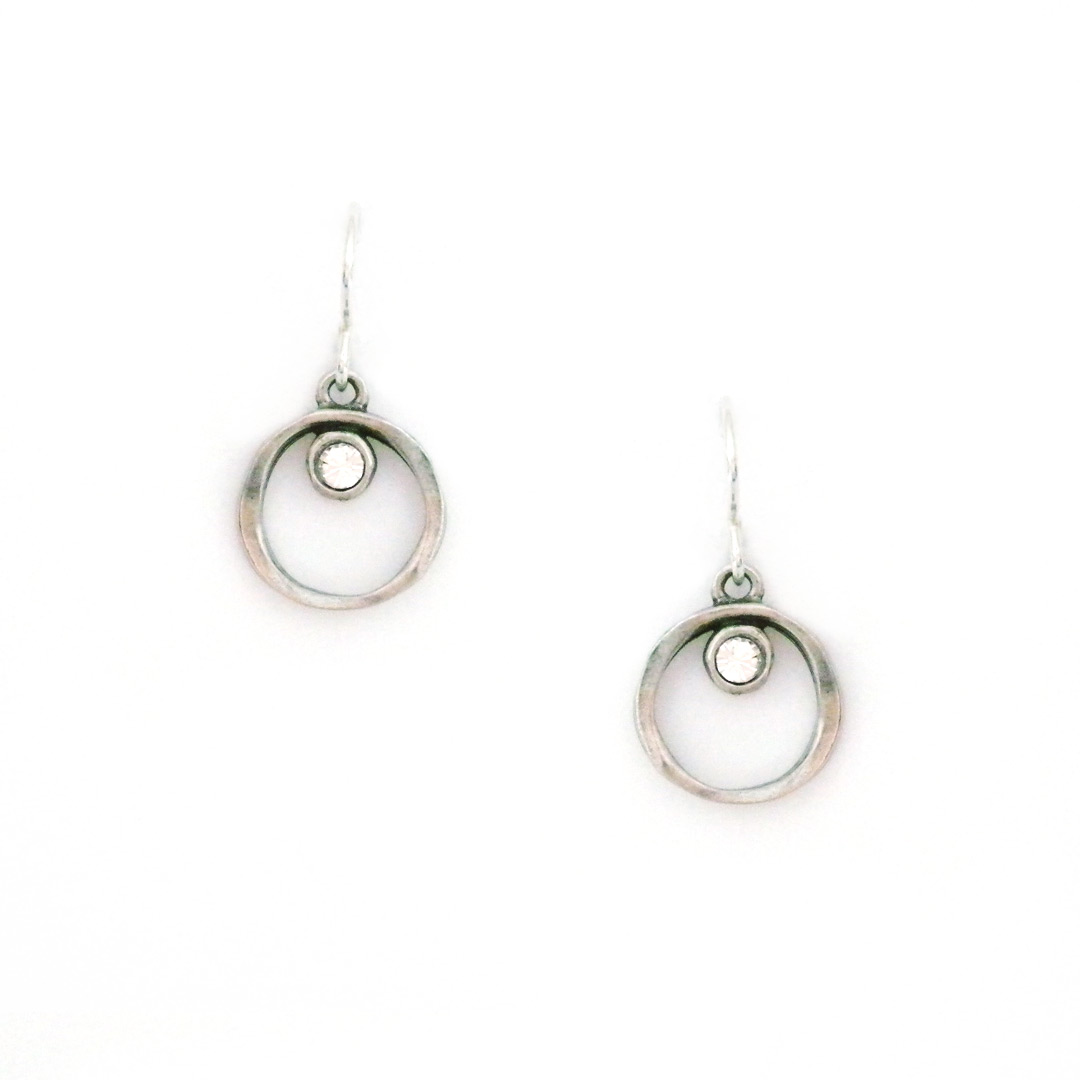 drop products groovy earrings s antique mini silver la tier