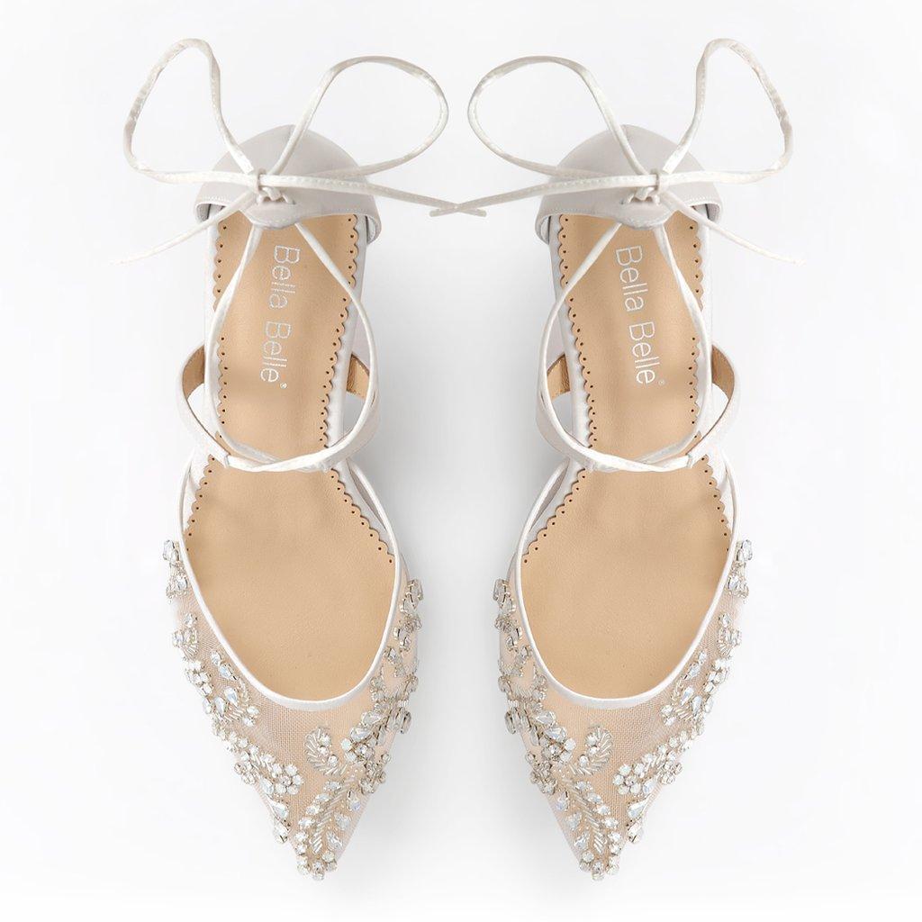 4533a65f0b6 Bella Belle Frances Wedding Shoes