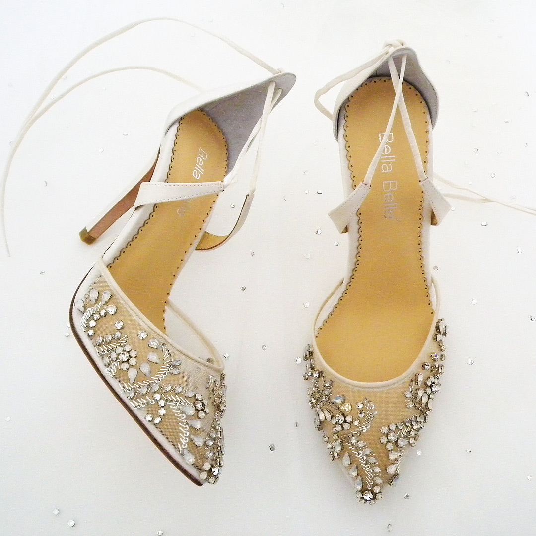 2014c76f46b Florence Crystal Beaded Wedding Shoes