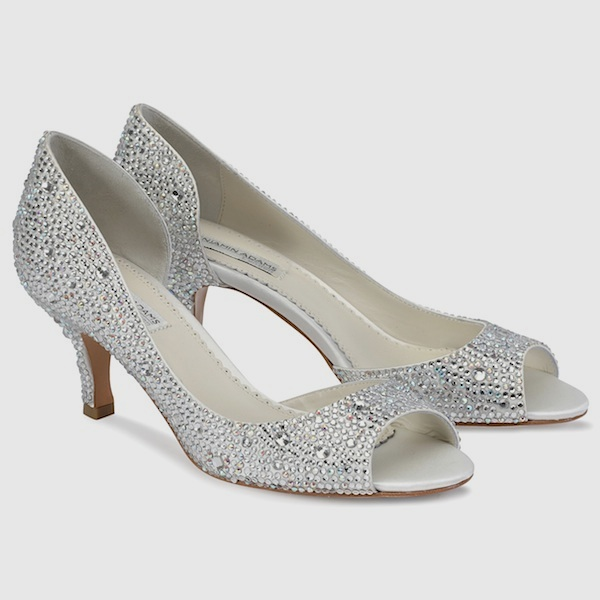Silver Shoes Wedding 9 Elegant Every girl need a