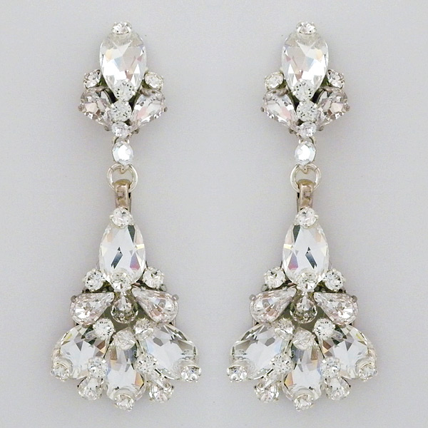 Erin cole bridal jewelry tulip chandelier earrings crystal tulip bridal chandelier earrings aloadofball Image collections