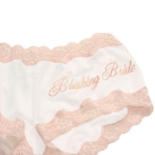 blushing bride boy pant