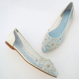 Flat Wedding Shoes | Low Heel Bridal Shoes & Wedding Flats