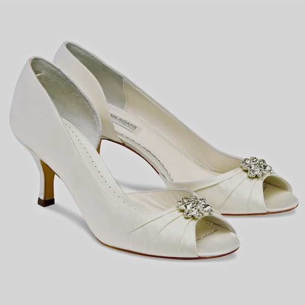 Wonderful Celine Low Heel Wedding Shoes Size 6, 8 SALE!!