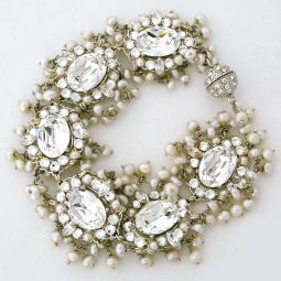 Meg Wedding Jewelry Bridal Necklaces Earrings
