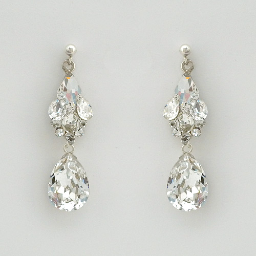 Erin Cole Couture Wedding Earrings
