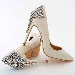 badgley mischka shoes wedding shoes designer bridal shoes