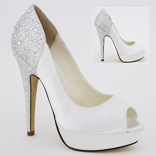 Bridal Shoes Low Heel 2014 Uk Wedges Flats Designer PHotos Pics Images Wallpapers Dyeable